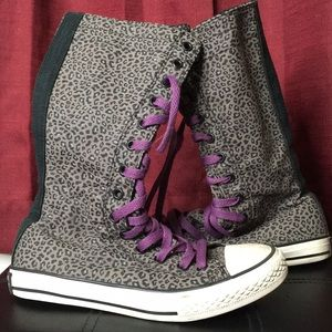 Converse hightop shoes